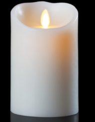 led kubbelys hvit