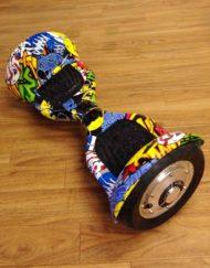 Multicolor hoverboard el-kjøretøy