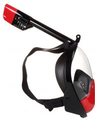 Snorkelmaske blackred