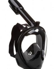 sort hel snorkelmaske